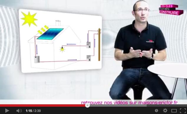 vidéo panneau solaire maison ERICLOR