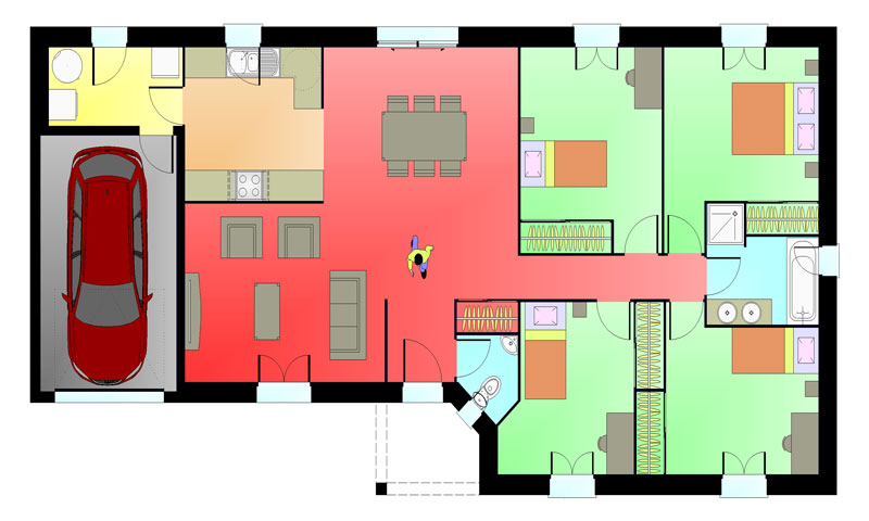 Blog maisons ericlor a la une for Planning construction maison